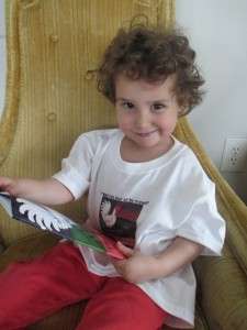 I'm a Super Story Book Reader!  T-shirts sizes 2-4 and 4-6.  www.reworkdpress.etsy.com